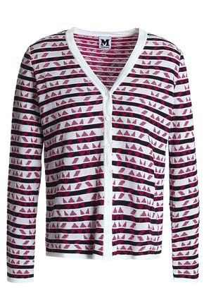 M MISSONI Cotton-blend jacquard cardigan