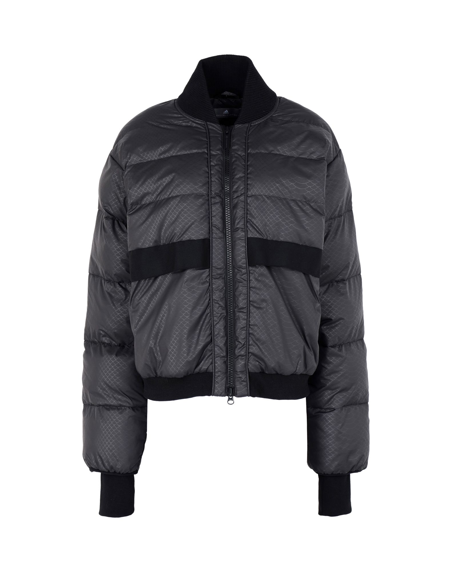 《セール開催中》ADIDAS by STELLA McCARTNEY レディース 合成繊維中綿アウター ブラック XS 100% ポリエステル Essentials Short Padded Jacket