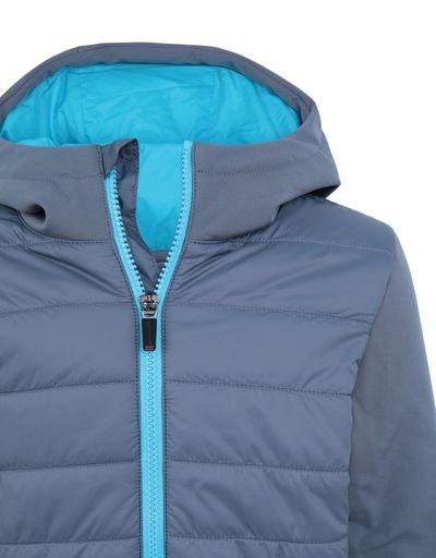Scuderia Ferrari Online Store - Nylon and softshell boy's jacket - Down Jackets