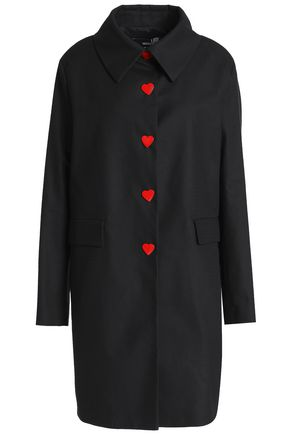 LOVE MOSCHINO Cotton-blend jacquard coat
