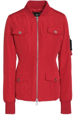 LOVE MOSCHINO Paneled shell bomber jacket