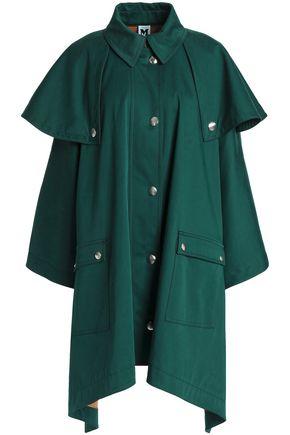 M MISSONI Draped stretch-cotton gabardine cape