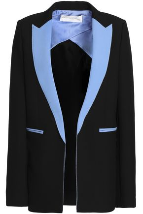 AMANDA WAKELEY Pixel color-block neoprene blazer