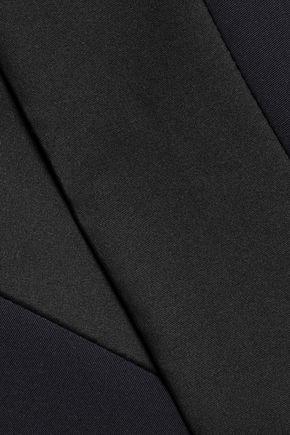 AMANDA WAKELEY Two-tone woven blazer