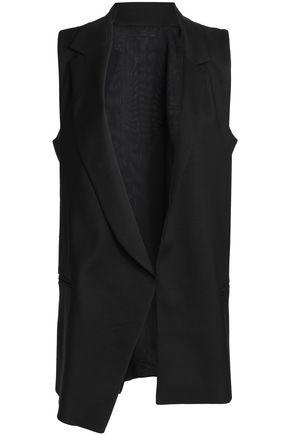 AMANDA WAKELEY Wool and silk-blend vest