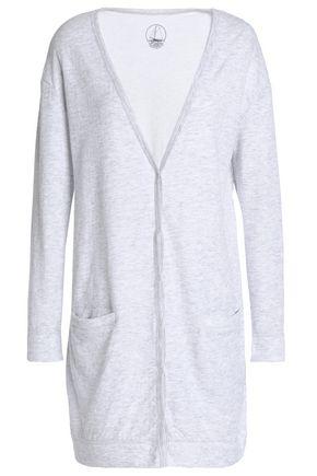 PETIT BATEAU Mélange cotton-jersey cardigan