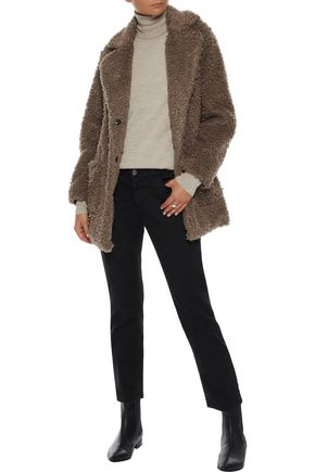 IRIS & INK Tabitha faux fur coat