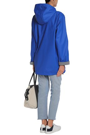 PETIT BATEAU Shell hooded raincoat
