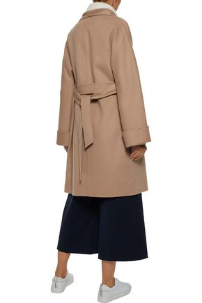 IRIS & INK Maggie wool and cashmere-blend coat