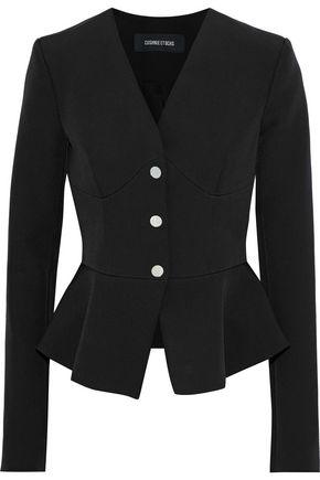 CUSHNIE ET OCHS Adelisa stretch-cady peplum jacket
