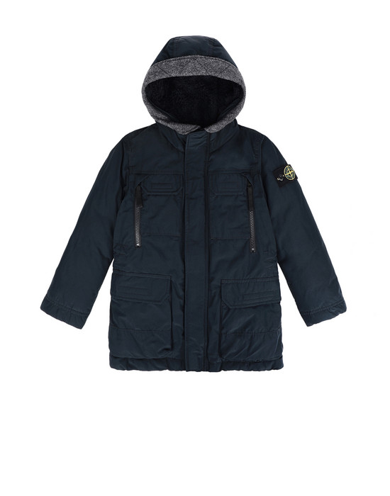 Mid-length jacket 40634 MICRO REPS DOWN STONE ISLAND JUNIOR - 0