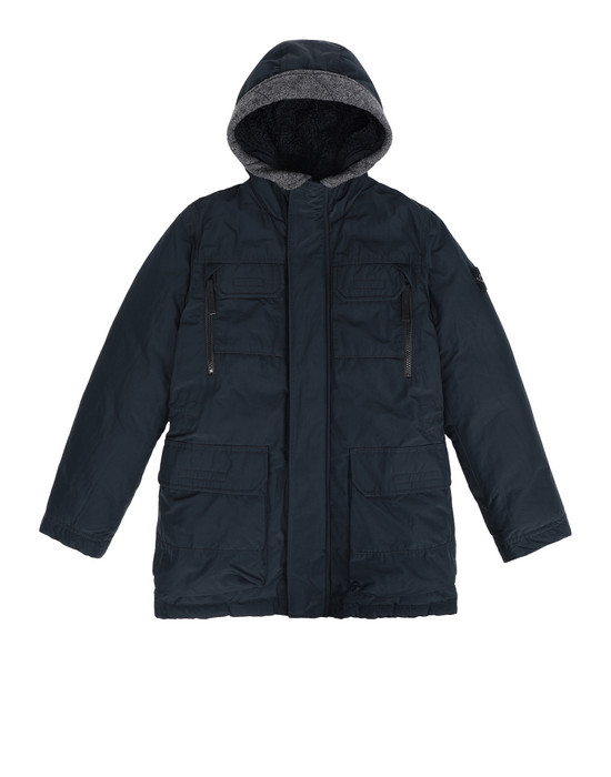 STONE ISLAND JUNIOR Mid-length jacket 40634 MICRO REPS DOWN