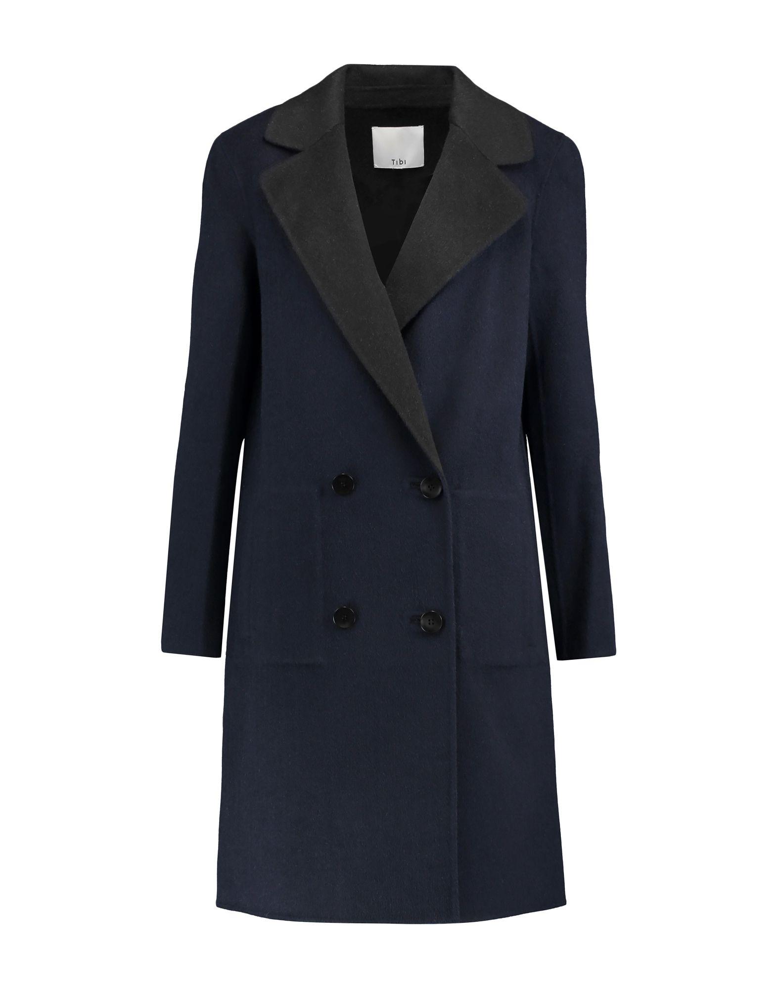 TIBI Легкое пальто пальто tibi пальто короткие