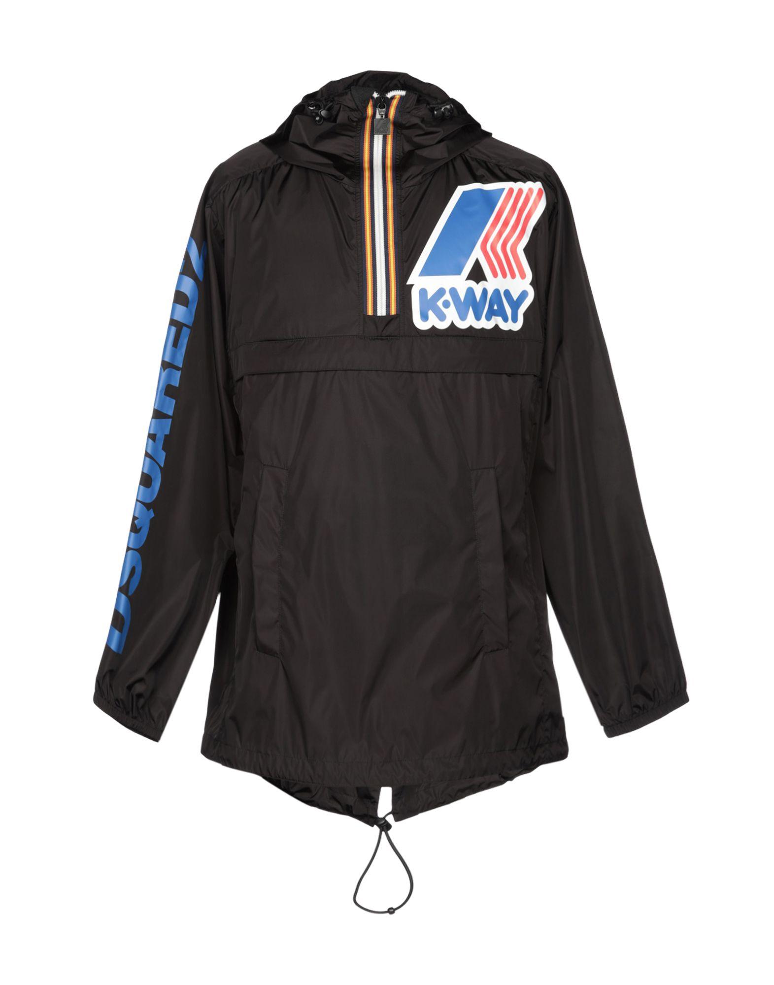 цены DSQUARED2 x K-WAY Легкое пальто