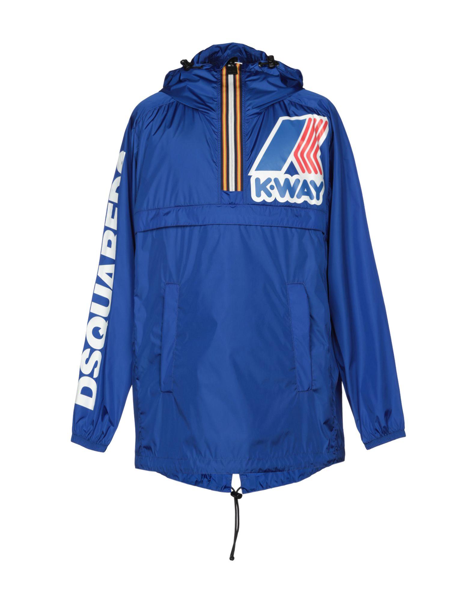 DSQUARED2 x K-WAY Легкое пальто