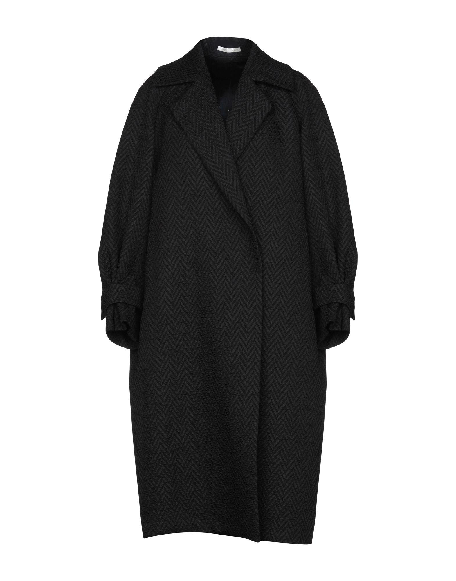 《送料無料》EMILIA WICKSTEAD レディース ライトコート ブラック M ポリエステル 100%