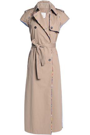 STELLA JEAN Cotton-gabardine trench coat