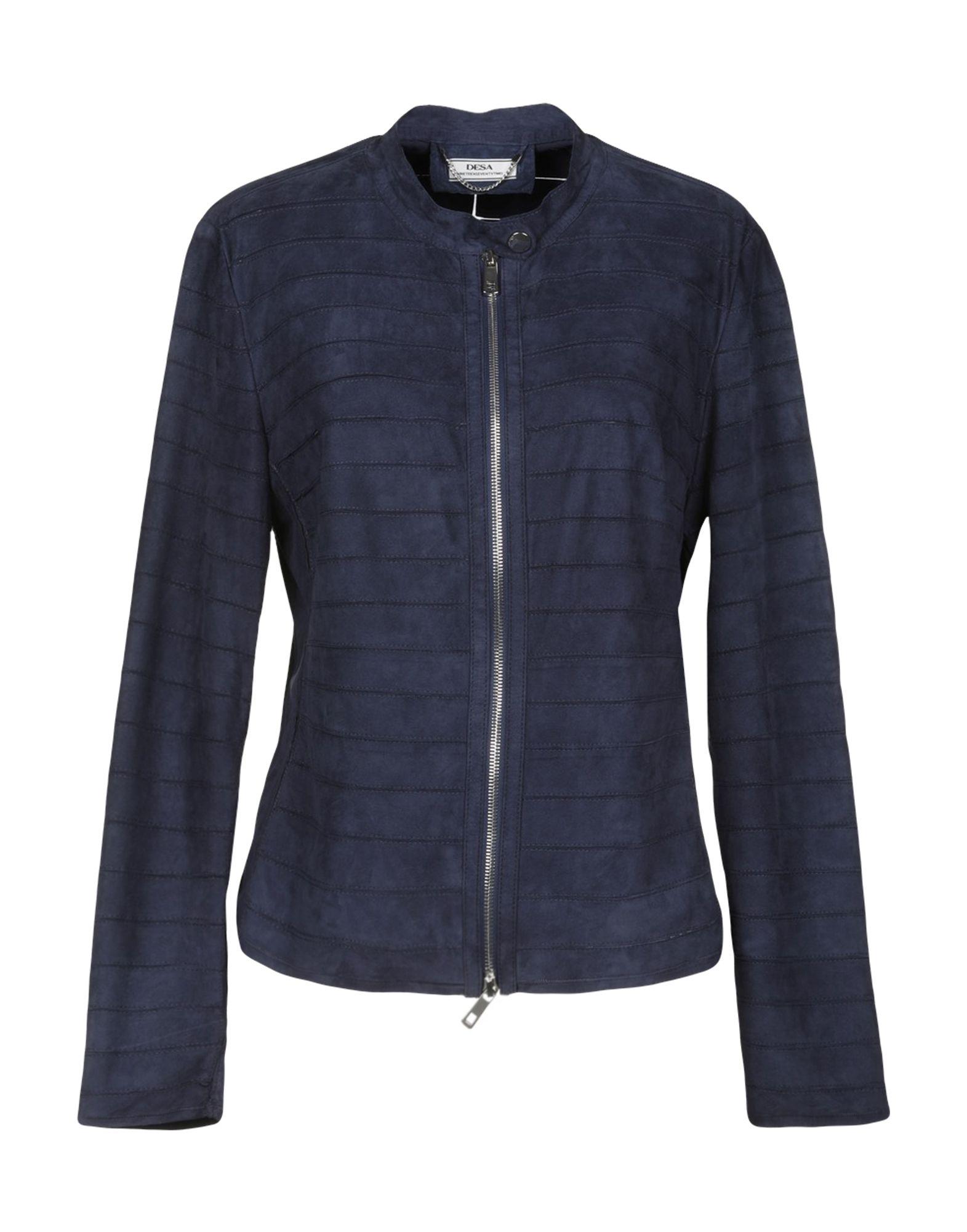 DESA NINETEENSEVENTYTWO Jackets in Dark Blue