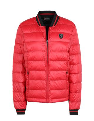 Scuderia Ferrari Online Store - Packable real down women's jacket - Down Jackets