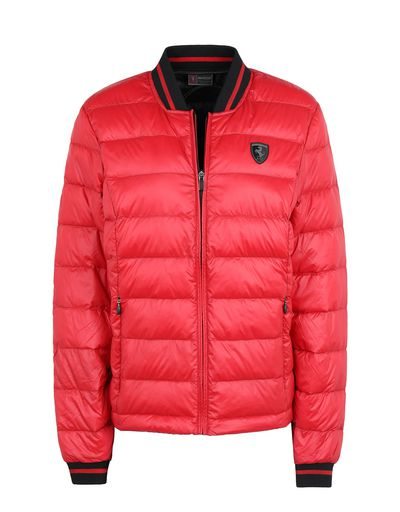 Scuderia Ferrari Online Store - Packaway women's down jacket with real down - Down Jackets