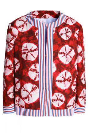 STELLA JEAN Printed cotton woven jacket