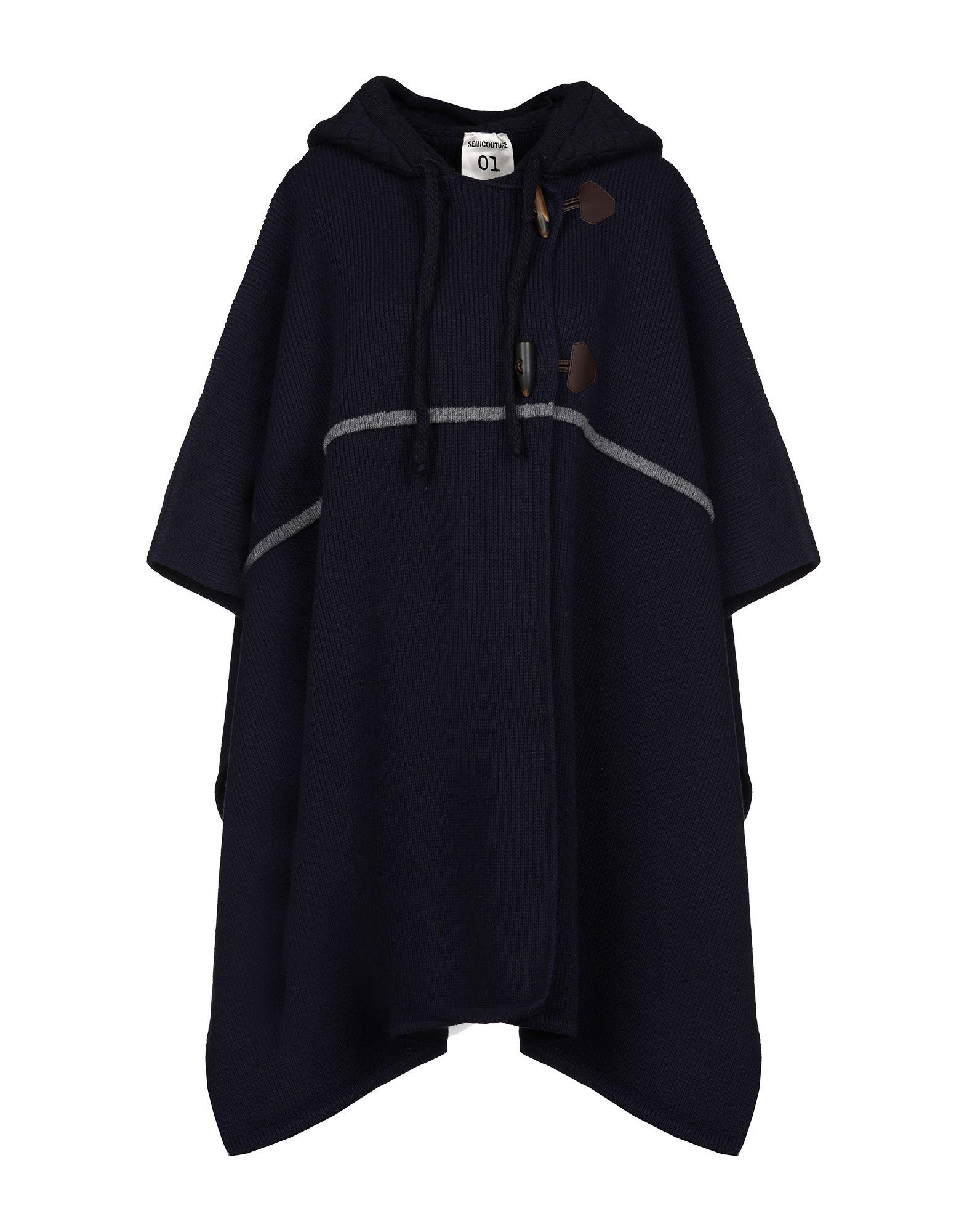SEMICOUTURE Накидка semicouture легкое пальто