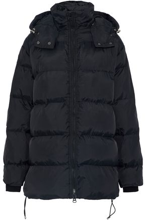 W118 by WALTER BAKER Monica quilted shell hooded coat