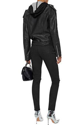 W118 by WALTER BAKER Hope leather biker jacket
