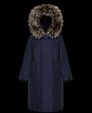 MONCLER BOUVREUIL - Long outerwear - women