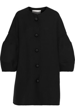 CAROLINA HERRERA Wool and silk-blend twill coat