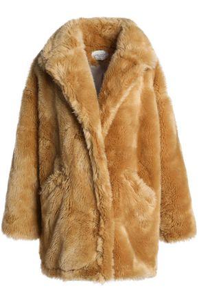 HALSTON HERITAGE Oversized faux fur jacket
