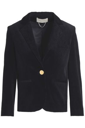 VANESSA BRUNO Cotton-blend corduroy blazer