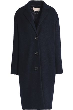 VANESSA BRUNO Brushed wool and alpaca-blend coat