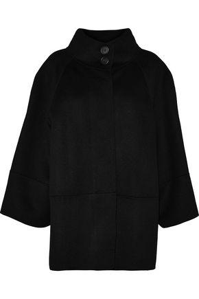 CAROLINA HERRERA Wool, angora and cashgora-blend coat