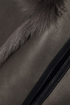 YVES SALOMON Reversible shearling vest