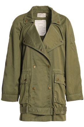 CURRENT/ELLIOTT Cotton-twill jacket