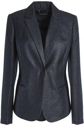 ELIE TAHARI Monet glittered crepe blazer
