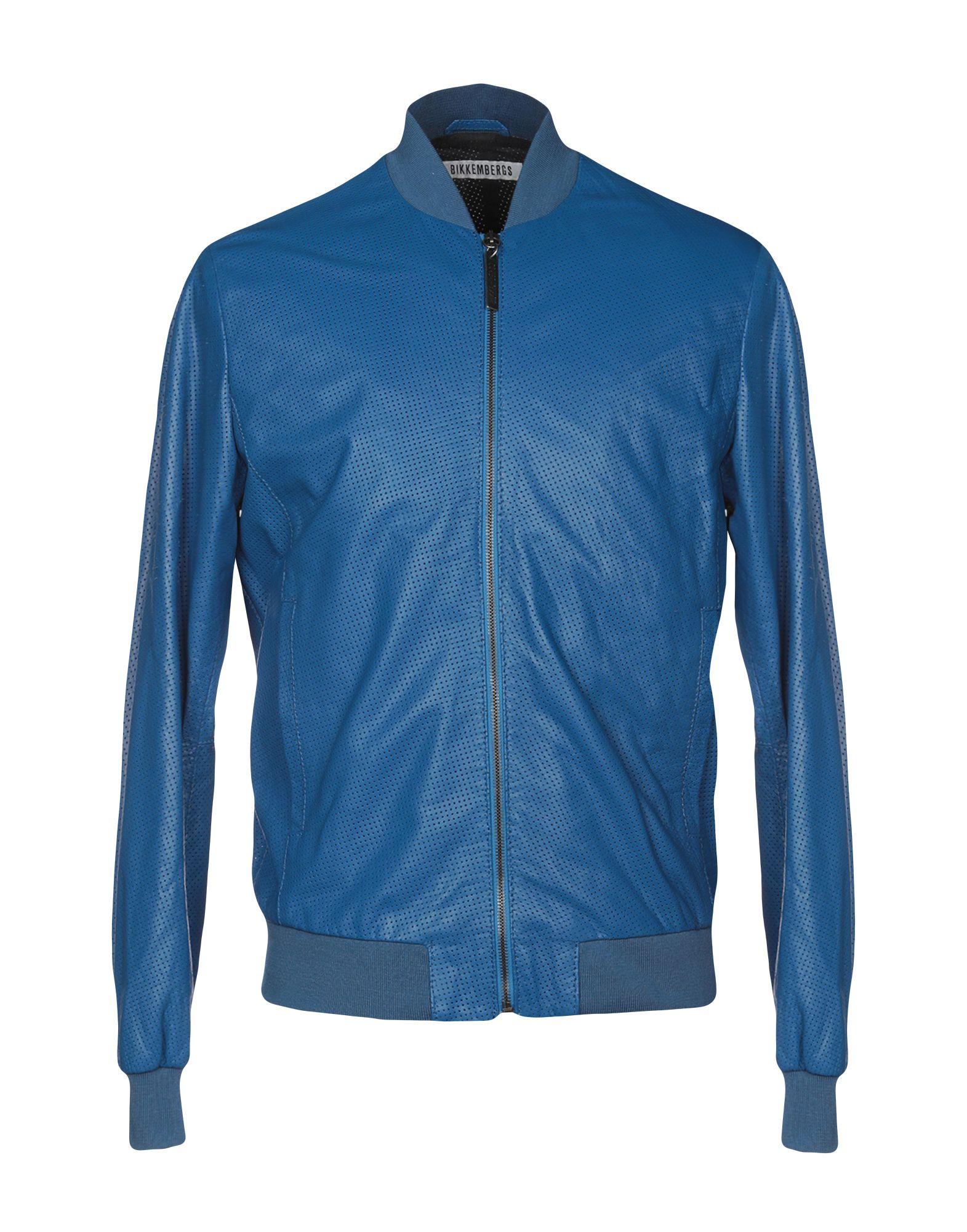 BIKKEMBERGS Jackets in Blue