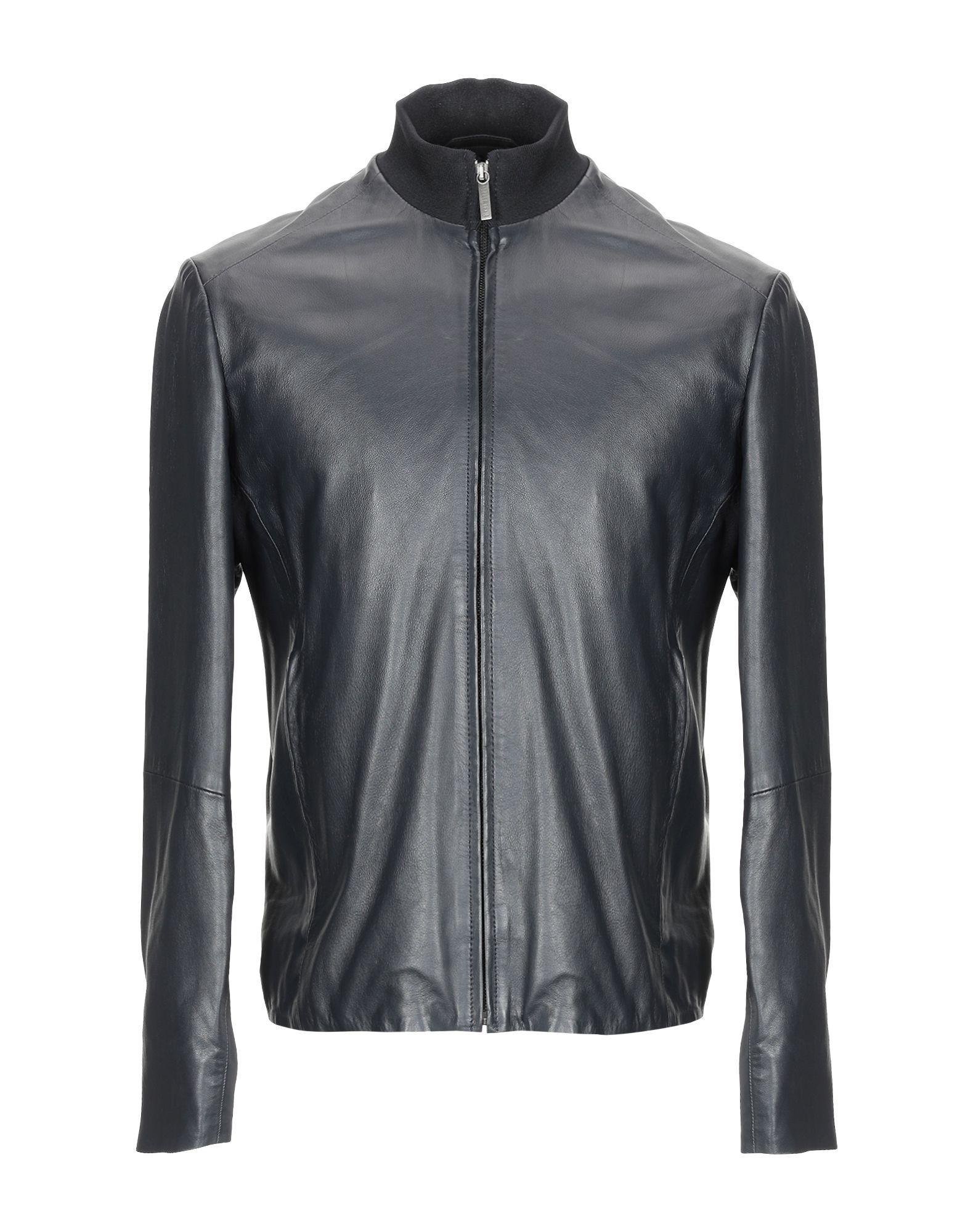 BIKKEMBERGS Jackets in Steel Grey