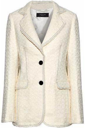 DEREK LAM Bouclé-tweed blazer