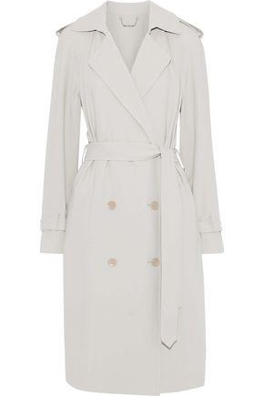 ELIE TAHARI Tiana crepe trench coat
