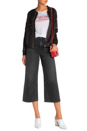 18a7f0c28767 ZOE KARSSEN Embellished satin bomber jacket