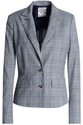 BAUM UND PFERDGARTEN Prince of Wales checked cotton-blend jacket