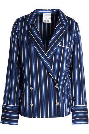 BAUM UND PFERDGARTEN Striped twill blazer