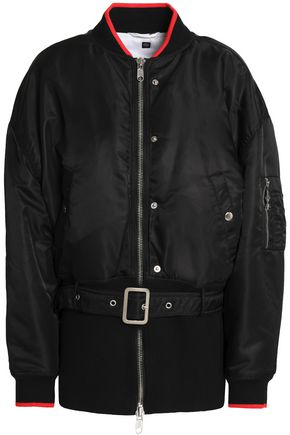 OPENING CEREMONY Belted shell bomber jacket