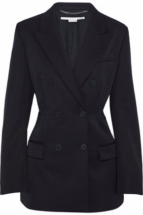 STELLA McCARTNEY Double-breasted wool blazer b08c6e899d465