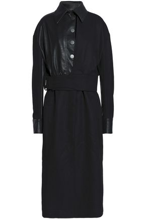 STELLA McCARTNEY Paneled wool coat