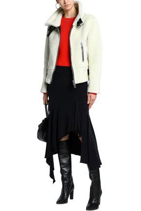 AINEA Faux shearling biker jacket