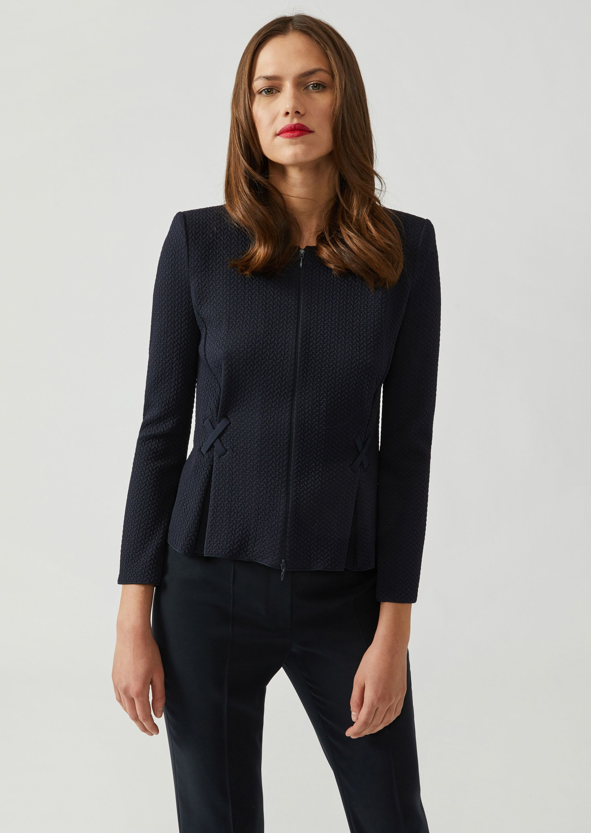 Casual Jackets - Item 41842587, Navy Blue from ARMANI.COM