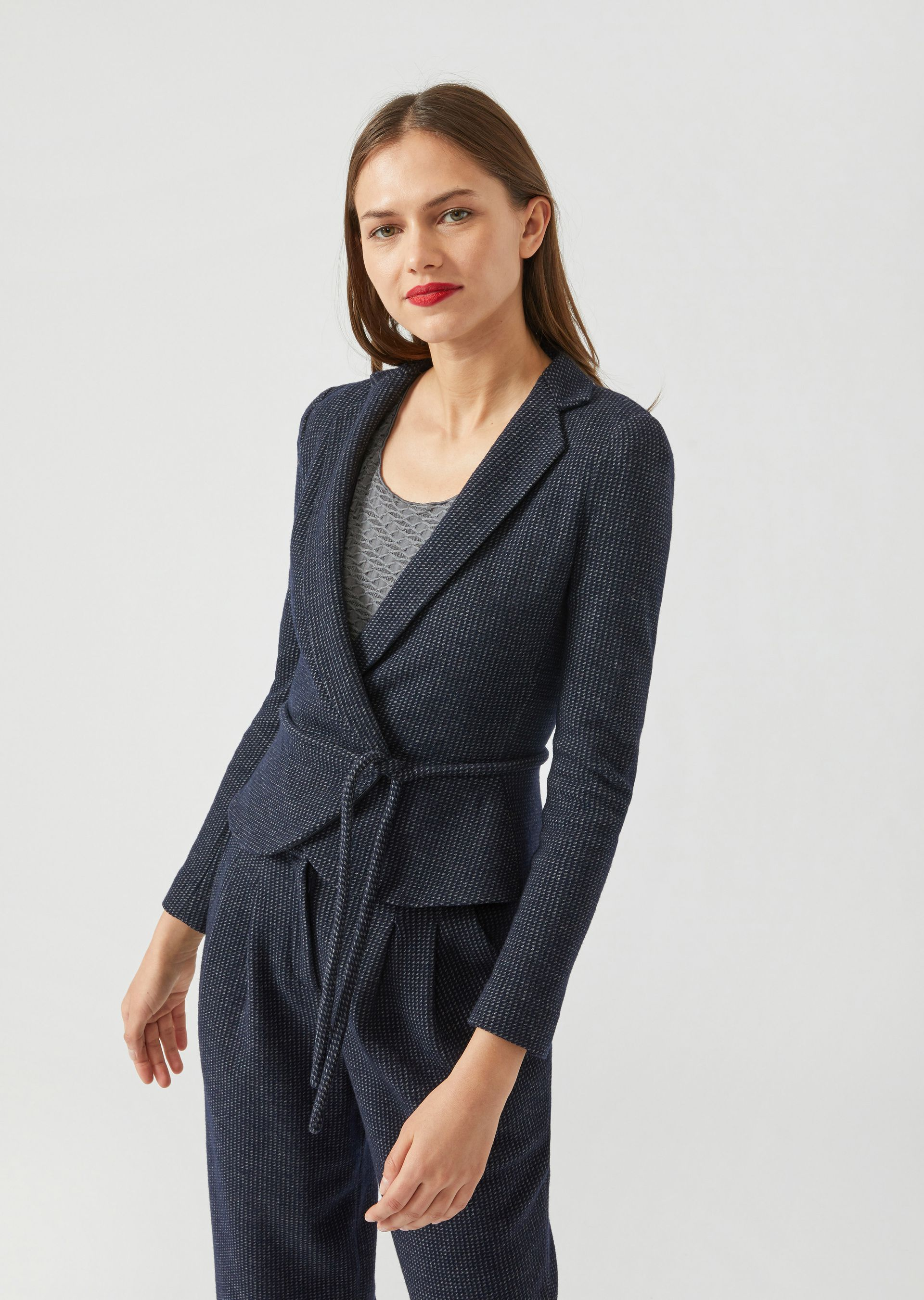 Casual Jackets - Item 41843011, Blue from ARMANI.COM
